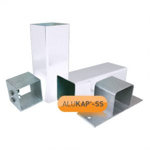 Aluminium Support Post