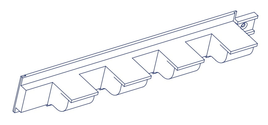 K2 Conservatory Dentil Rail Conservatory Spares