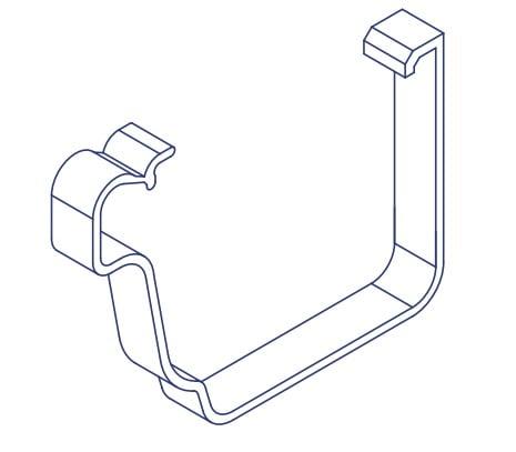 K2 Conservatory Spare External Gutter Clip