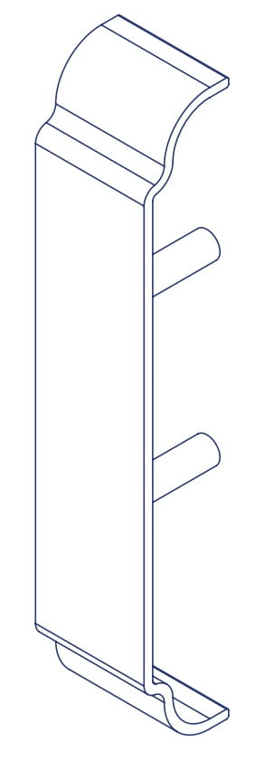 K2 Conservatory Cascade Inline Joint Cover Conservatory