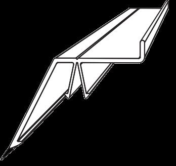 Sample Capa6011 Ultraframe Glazing Starter Bar