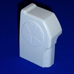 CCE001L - Left Handed Ultraframe Conservatory Chambered Start Bar End Cap