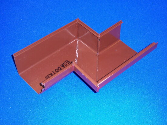 Ultraframe Marley Classic Special Gutter Angle Right - Brown