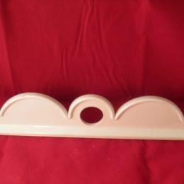 C7013 - K2 Plain Plastic Conservatory Ridge Decorative Cresting -300mm
