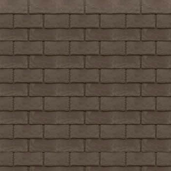 Tapco Slate Synthetic Tile Chestnut Brown 712 Pack