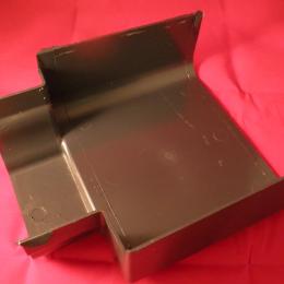 Synseal Global aluminium box gutter to pvc gutter adapter - Left Hand Grey XGA2L