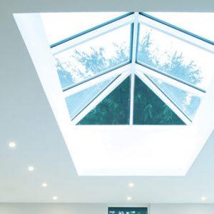 White Atlas Roof Lantern