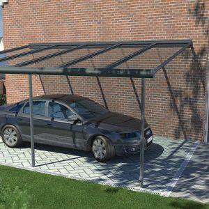 Ultraframe Grey Pergola