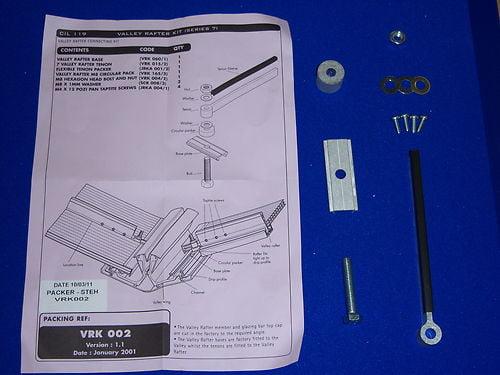 VRK002 - Ultraframe Classic Conservatory Valley Fixing Kit
